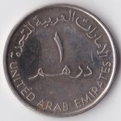 United Arab Emirates, One Dirham 2007, VF, WO1199